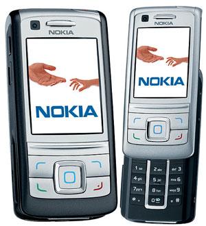 Nokia 6280 zdjęcie złożona i rozsunięta
